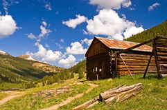 Haunted Miner's Log Cabin - 2 Stock Photos