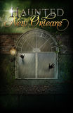 Haunted New Orleans Hotel Background Poster Stock Photos