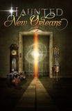Haunted New Orleans Hotel Elevator Background Poster Royalty Free Stock Photo