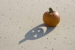 Haunted Pumpkin Royalty Free Stock Image