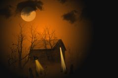 Haunted Shack Stock Photography
