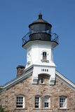 Haunted Sheffield Island Lighthouse in Connecticut Stock Photos