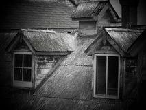 Haunted vintaged altes Haus Stockfotos