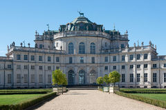 The haunting Residence of Stupinigi. The haunting residence of the royal house of Savoy in Stupinigi, an Unesco world heritage site since 1997 Stock Photos