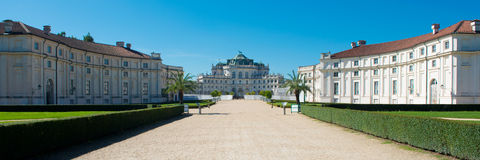 The haunting Residence of Stupinigi Royalty Free Stock Photos