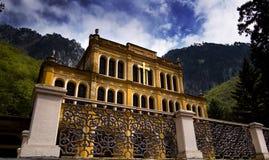Hauntingly beautiful historic house.  Royalty Free Stock Photography