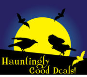Hauntingly Good Deals! Royalty Free Stock Image