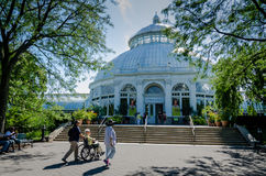 Haupt Conservatory - New York Botanical Garden - New York City Stock Image