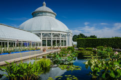 Haupt Conservatory - New York Botanical Garden - New York City Royalty Free Stock Photos