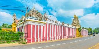 Haupt-Shiva Temples in Sri Lanka Lizenzfreies Stockbild