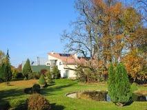 Haupt- und schöner Garten, Litauen Lizenzfreie Stockbilder