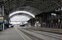 Hauptbahnhof in Amsterdam, die Niederlande Stockfoto
