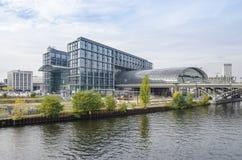 Hauptbahnhof (Berlińska centrali stacja) Zdjęcia Stock