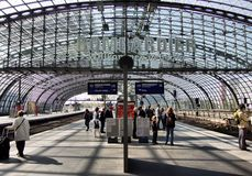 Hauptbahnhof in Berlin Royalty Free Stock Photo