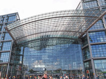 hauptbahnhof berlin Стоковая Фотография