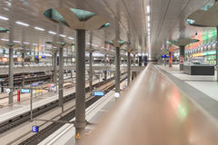 hauptbahnhof berlin Стоковое Изображение