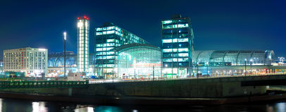 Hauptbahnhof berlin, germany Stock Photography