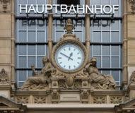 Hauptbahnhof Frankfurt. The Hauptbahnhof, or Central Station in Frankfurt, Germany Stock Images