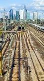 Hauptbahnhof in Frankfurt Stock Photos