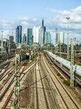 Hauptbahnhof in Frankfurt Stock Photography