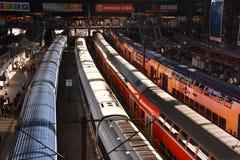Hauptbahnhof in Hamburg, Germany Royalty Free Stock Image