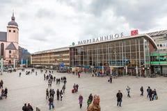 Hauptbahnhof Köln Stockbilder