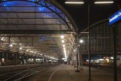 Hauptbahnhof von Amsterdam Stockbilder