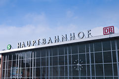 Hauptbanhof Royalty Free Stock Photography