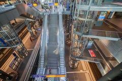 Hauptbanhof Berlijn Stock Foto's