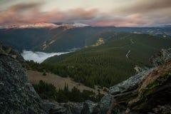 Hauptberg - Colorado lizenzfreies stockbild