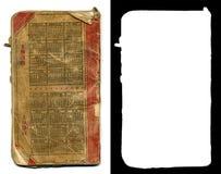 Hauptbuch-Rückseite stockfoto