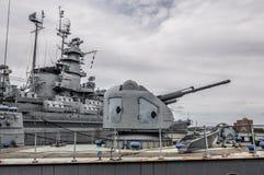 Hauptdrehkopf von USS Joseph P Kennedy Jr lizenzfreies stockbild