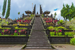 Haupteingang des Landtempels in Bali, Indonesien Lizenzfreies Stockfoto