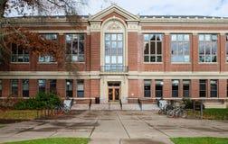 Haupteingang, Kidder Hall, Staat Oregons-Universität, Corvallis, Stockbild