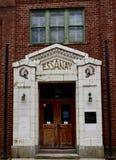 Haupteingang zu Essanay-Studios lizenzfreie stockbilder