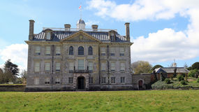 Haupteingang zu Kingston Lacy 2 stockfotos