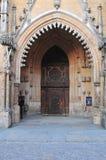 Haupteingang zur Kathedrale von Johannes Baptist Archikatedra Sw Jana Chrzciciela lizenzfreie stockbilder