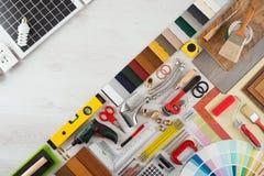 Haupterneuerung und DIY lizenzfreie stockbilder
