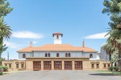 Hauptfeuerwache in Bloemfontein Stockfotos