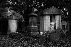 Hauptfriedhof, Ulm, Duitsland Royalty-vrije Stock Afbeeldingen