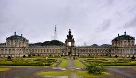 Hauptgebäude von Tian-Porzellan Park, Sagaken, Japan Lizenzfreies Stockbild
