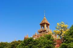 Hauptgebäude von Wat Prathad Ruang Rong stockfotografie