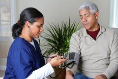 Hauptgesundheitspflege Lizenzfreie Stockbilder