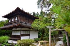 Haupthalle des silbernen Tempels Stockfotografie