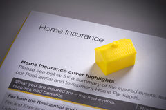 Haupthaus-Versicherung lizenzfreie stockbilder