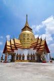Hauptkapelle von Wat in Thailand stockbilder