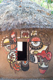 Hauptkunst gemacht vom Lehm Lizenzfreie Stockbilder