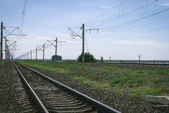 Hauptlinie Eisenbahn lizenzfreies stockbild