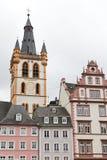 Hauptmarkt en Trier Fotografía de archivo libre de regalías
