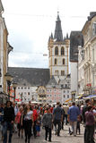 Hauptmarkt in Trier Royalty Free Stock Photos